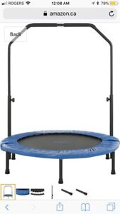 New Upper Bounce 48-Inch Mini Indoor/Outdoor Trampoline-$85 obo