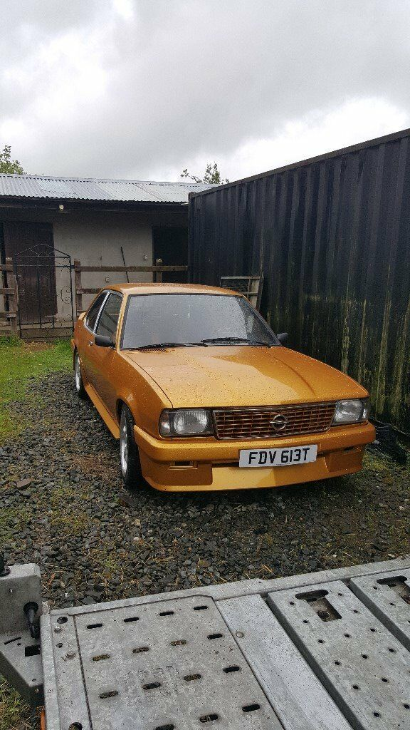 Opel Ascona 1979 2.0 CIH 5 Speed Getrag box not manta chevette escort starlet corsair