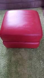 leather storage poffe