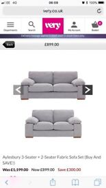 Like new stunning sofas