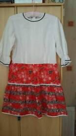 70's style Boho Dress