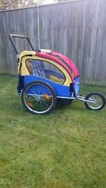 Bicycle Trailer & Jogger Stroller 2 in 1