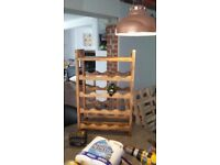 Wine rack for sale. 700mm high 450 mm wide