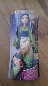 Brand new in box disney princess mulan