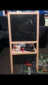 Black board & white board
