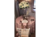 ***ROSE GOLD DECOR WEDDING PACKAGE***