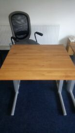 Computer Office Desk Table 80x80x72 Perfect Condition - Warrington