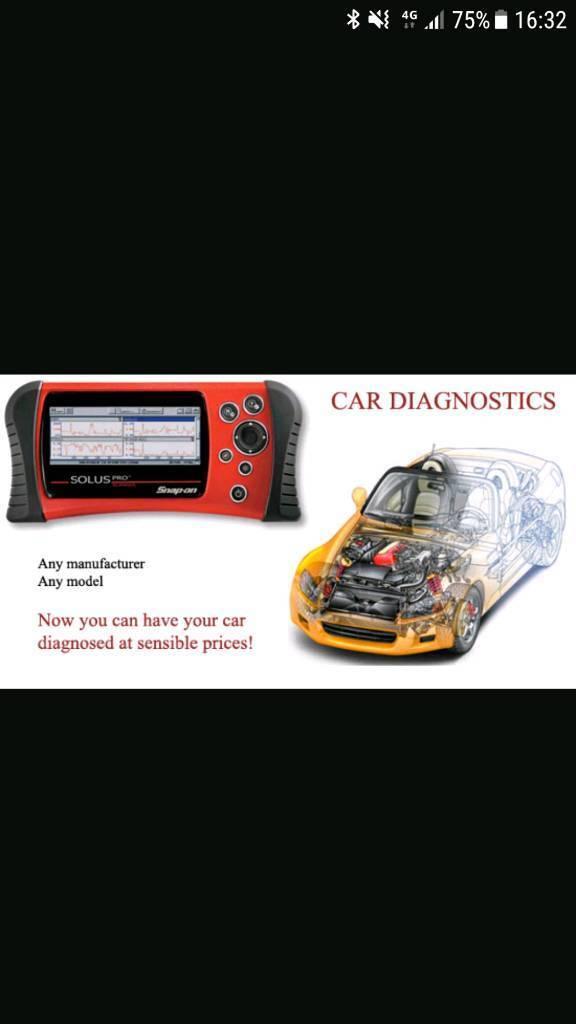 Car Engine Diagnostic Test
