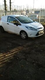 Ford Fiesta van good condition, 2 owners, MOT May 2017, surplus to requirements.