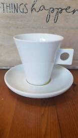 Nescafe dolce gusto coffee cup saucer