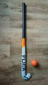 Slazenger Hockey Stick & Ball