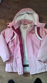 Lovely girls jacket, pink, from next, age 11 - 12 years, height 152 cm