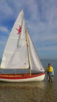 Shearwater Sailing Dinghy Panorama Mitcham Area Preview