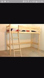 Double cabin bed frame only