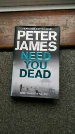 Peter James. Hardcover.