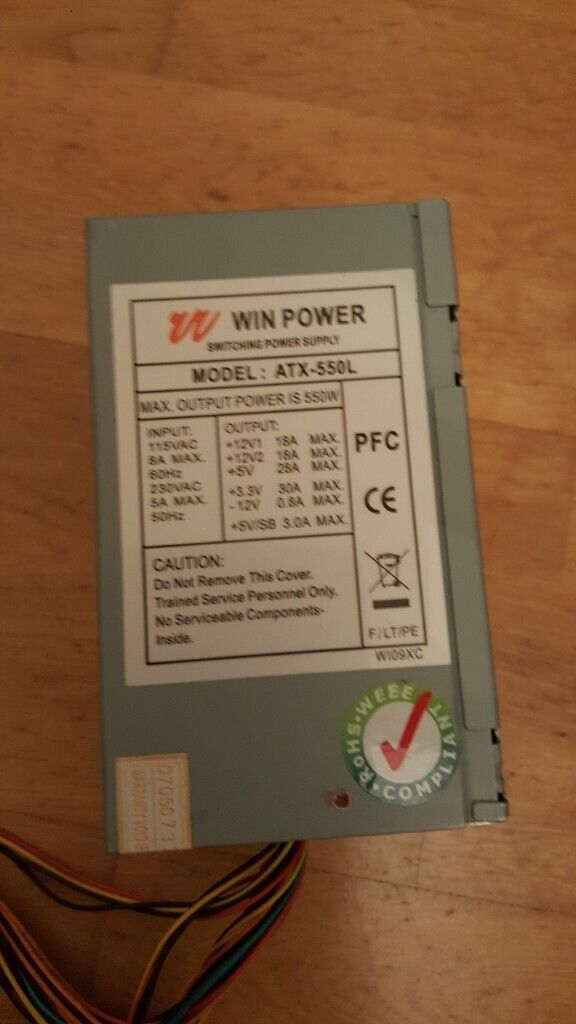 FREE - ATX power supply | in Hedge End, Hampshire | Gumtree