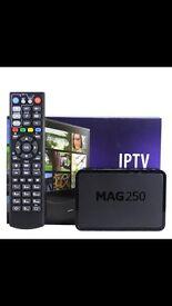 MAG 250 IPTV WITH 1 YR SUB