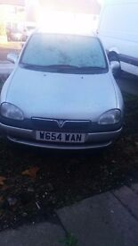 VAUXHALL CORSA 1.4 SPARE OR REPAIR CAM-BELT SNAP/BROKEN