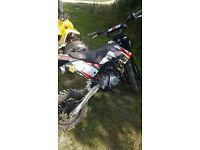 Yx 140 M2r pit bike quad stomp pitbike