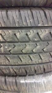 4 pneus d'été LT245/75/16 GT Radial Savero HT2, 40% d,usure, 7-8/32 de mesure.