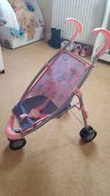 Baby Born toy buggy