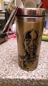 Brand new star wars travel mug