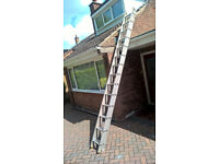 Aluminium Ladders Double Clima 14 feet class 2 TRADE use