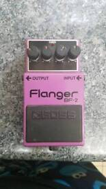 Boss bf-2 flanger guitar pedal