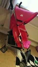 Mclaren triumph pink buggy