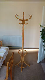 Solid Wood Coat Stand