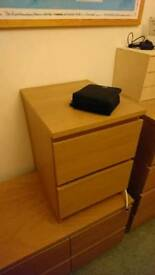 Ikea Malm Bedside Tables SOLD