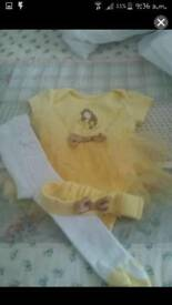 Beauty and the beast Baby clothes
