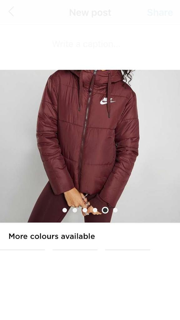 2c6c0e9418db Nike padded reversible coat