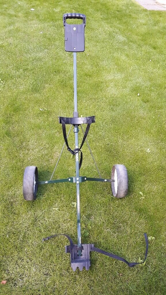 Golf Trolleyin Oadby, LeicestershireGumtree - Golf trolley for easy club transportation. Great condition. Can be folded also