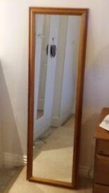 Tall mirror, vgc