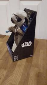 Brand New Compare The Market Limited Edition Sergei as Obi - Wan Kenobi Meerkat toy