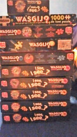 10 x Bundle of WASGIJ Jigsaws