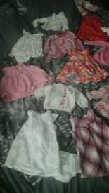 Baby girls bundle 9-12 months