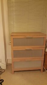 Chest of drawers, mint condition! Only 6 months old, only sellings as moving house.