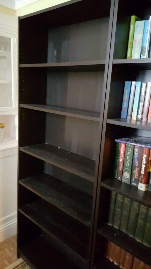 bookcases set of 3in Brighton, East SussexGumtree - large bookcases. 3 separate ones. 202h x 80w x 28d
