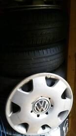 Vw polo steel wheels