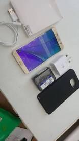 Samsung Galaxy note 5 32gb gold unlocked