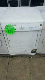 ZANUSSI 7 KG LOAD CONDENSER DRYER