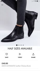 Beautiful real leather Chelsea Boots
