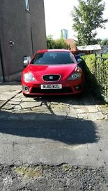 Seat leon fr. Top spec low millage £6000