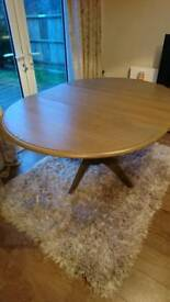 John Lewis Marcelle Solid Extending Table, DELIVERY AVAILABLE