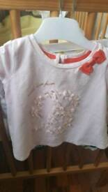 Ted baker outfit.6-9 months