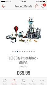 Lego city Prison Island Brand New