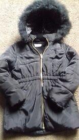 Girls H&M coat age 7-8