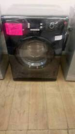 BEKO BLACK 9KG LOAD 1200SPIN WASHING MACHINE